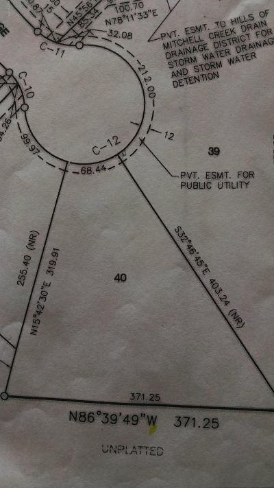Big Rapids Residential Lots & Land For Sale: 40 Tree Top Ridge
