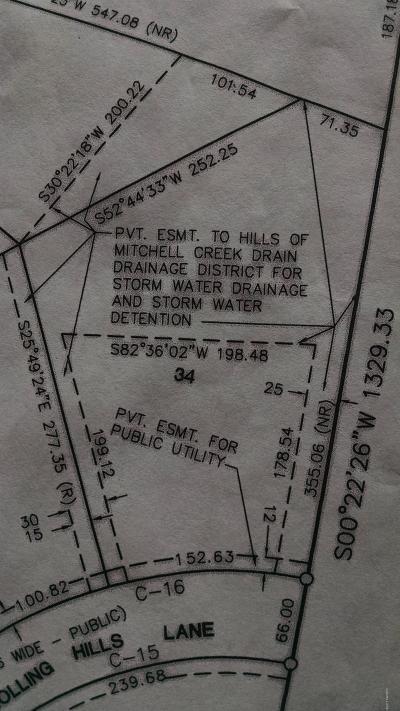 Big Rapids Residential Lots & Land For Sale: 34 Rolling Hills Lane