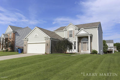 Caledonia Single Family Home For Sale: 8508 Haystack Road SE