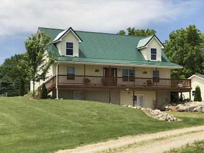 Branch County, Hillsdale County Single Family Home For Sale: 3190 North Adams Road