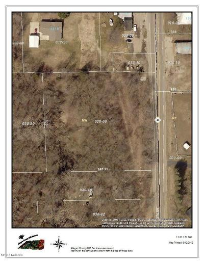 Allegan County Residential Lots & Land For Sale: Vl002 M40