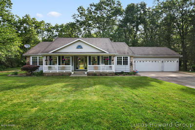 Kent County Single Family Home For Sale: 7699 Raven Ridge Drive SE