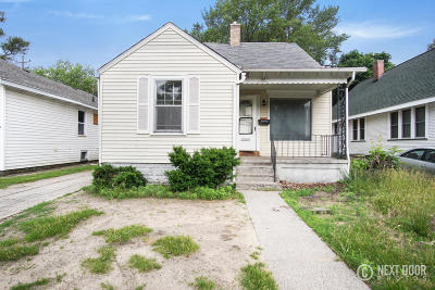 Muskegon Single Family Home For Sale: 1881 Wood Street