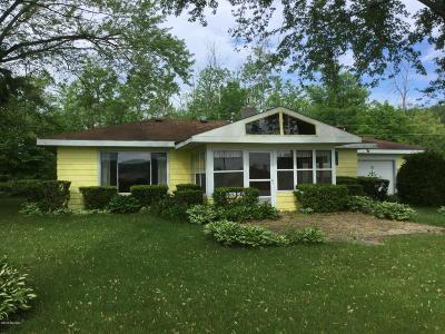 Hillsdale MI Single Family Home For Sale: $189,000