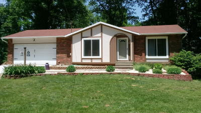 Jackson County Single Family Home For Sale: 4986 Farwell Lake Road