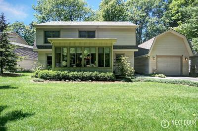 Allegan County Single Family Home For Sale: 2346 Lakeshore Drive