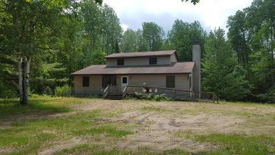 Missaukee County Single Family Home For Sale: 5900 E Stoney Corner Road