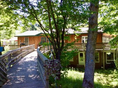 Manistee County Single Family Home For Sale: 12873 Cedar Creek Road