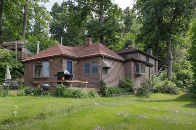 St. Joseph County Single Family Home For Sale: 58514 E Clear Lake Road