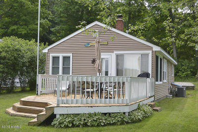Allegan County Single Family Home For Sale: 3119 Baseline Road
