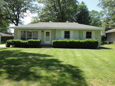 North Muskegon Single Family Home For Sale: 573 Bear Lake Road