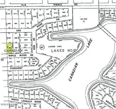 Canadian Lakes Residential Lots & Land For Sale: 11496 Maple Ridge