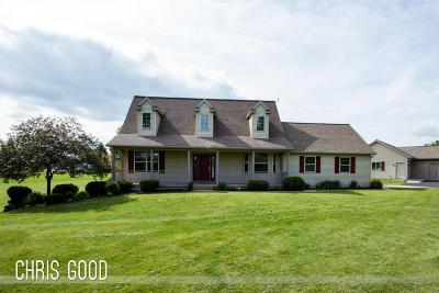Cedar Springs MI Single Family Home For Sale: $329,000