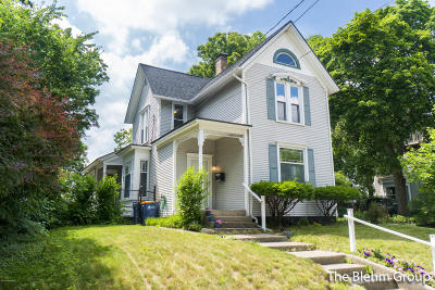 Grand Rapids Single Family Home For Sale: 241 Sunset Avenue NW