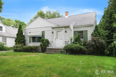 Grand Rapids Single Family Home For Sale: 1416 Derby Drive NW Drive NW