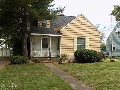 Muskegon Single Family Home For Sale: 3013 Westland Road