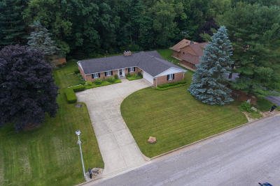 Kalamazoo County Single Family Home For Sale: 6433 Old Log Trail