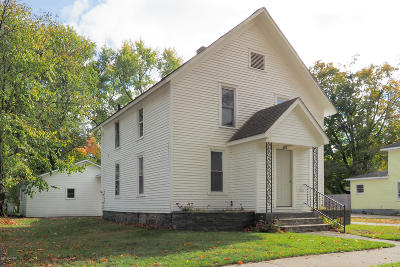 St. Joseph County Single Family Home For Sale: 619 Maple Street