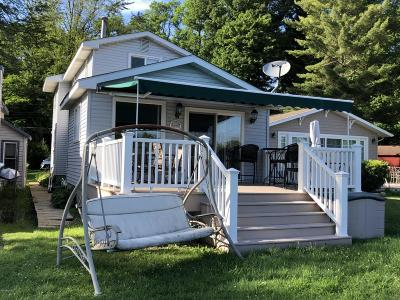 Coloma, Watervliet Single Family Home For Sale: 8534 Lake Avenue