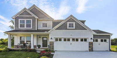 Byron Center Single Family Home For Sale: 639 Painted Rock Drive