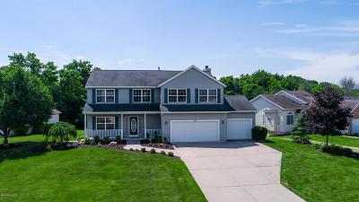 Zeeland Single Family Home For Sale: 10740 Wood Ridge Drive
