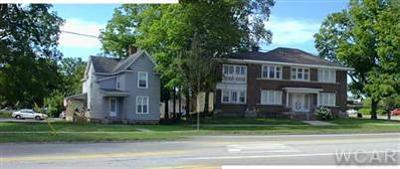 Big Rapids Multi Family Home For Sale: 304 & 310 Maple Street