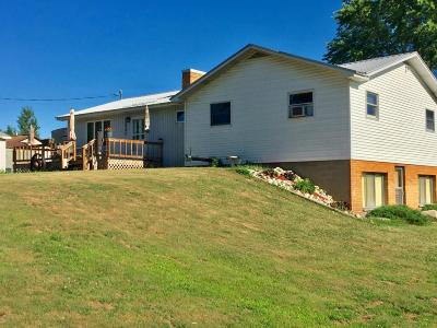 Big Rapids Single Family Home For Sale: 23921 18 Mile Road Road