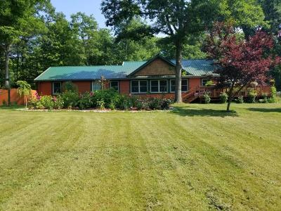 Free Soil Single Family Home For Sale: 5778 E Shores Drive