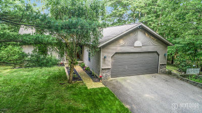 Allegan Single Family Home For Sale: 1282 Bridge Road