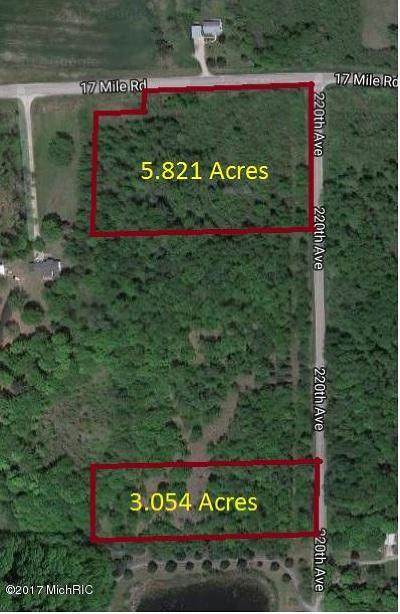 Big Rapids Residential Lots & Land For Sale: 5.821 Acre 17 Mile Road