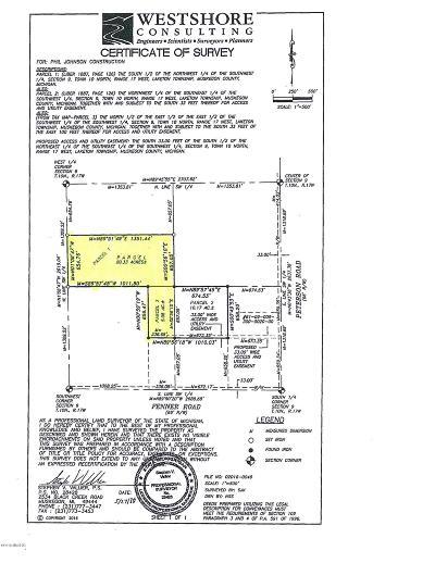 Muskegon Residential Lots & Land For Sale: 3726 Moto Lane