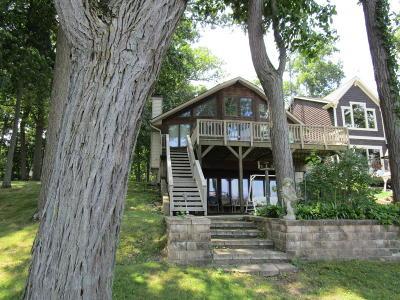 Branch County, Hillsdale County Single Family Home For Sale: 1051 Nipigon Beach Road