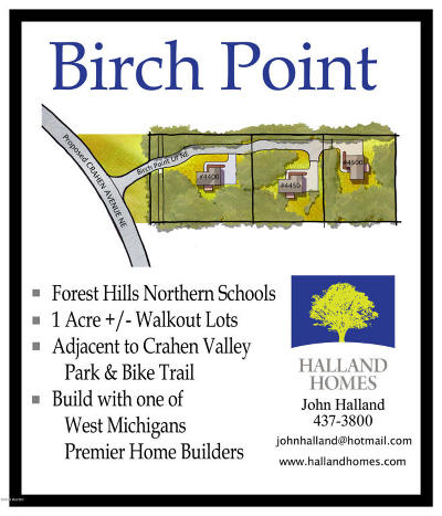 Residential Lots & Land For Sale: 4400 Birch Point Drive NE