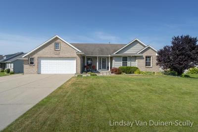 Hudsonville Single Family Home For Sale: 7445 Alycia Drive