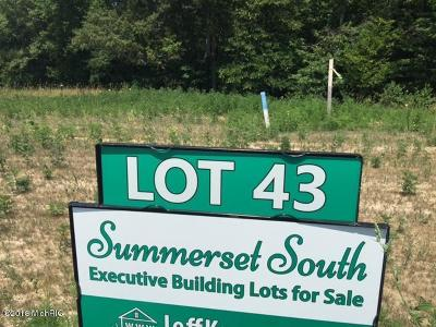 Grandville Residential Lots & Land For Sale: 5587 Stonebridge Drive #Lot 43