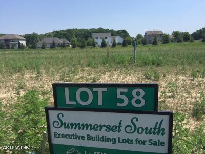 Grandville Residential Lots & Land For Sale: 5640 Stonebridge Drive #Lot 58