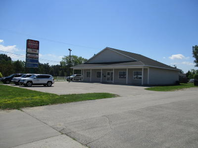 Ludington Commercial Lease For Lease: 5177 W Us-10