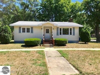 Cadillac Single Family Home For Sale: 621 Cherry Street
