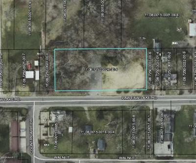 Berrien County Residential Lots & Land For Sale: 5558 Paw Paw Lake Road