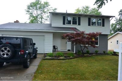 Muskegon Single Family Home For Sale: 1496 Woodside Road