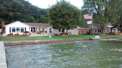 Kalamazoo County Single Family Home For Sale: 9810 East Shore Drive