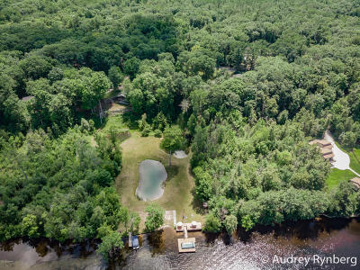 Newaygo Single Family Home For Sale: 4525 S Croton Hardy Drive