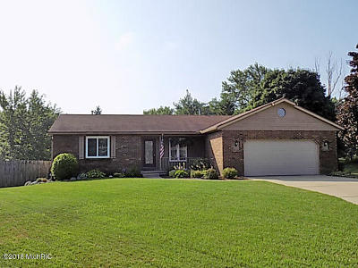 Jenison MI Single Family Home Sold: $209,900