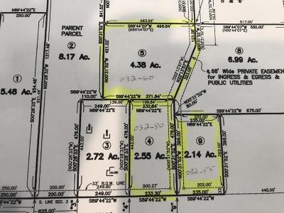 Ionia County Residential Lots & Land For Sale: Lot 4 Pheasant Ridge Drive