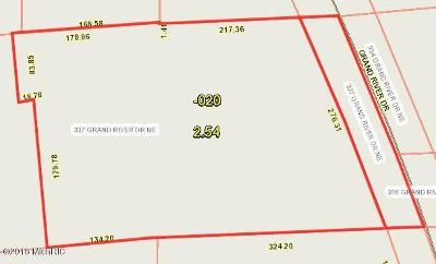 Kent County Residential Lots & Land For Sale: 337 Grand River Drive NE