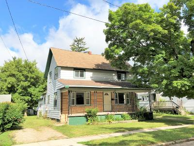 Scottville Single Family Home Active Contingent: 107 N Columbia Avenue