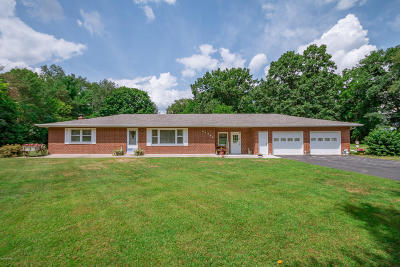 Dowagiac Single Family Home For Sale: 31784 Topash Street
