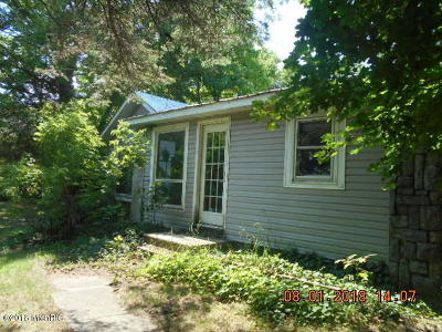 Mason County Single Family Home For Sale: 945 N Tyndall