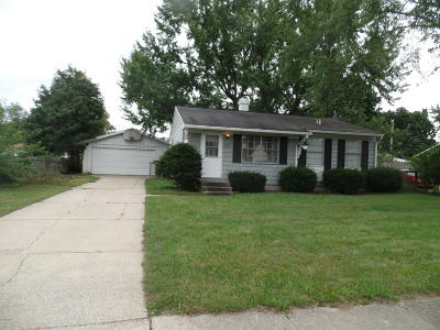 Niles Single Family Home For Sale: 2321 Emerald Drive