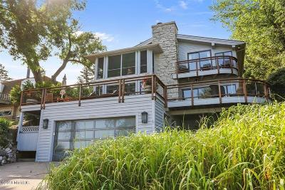 Single Family Home For Sale: 3777 Lake Shore Drive